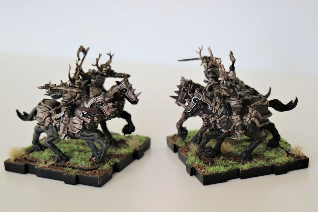 Runewars Miniatures Death Knights Both Sides
