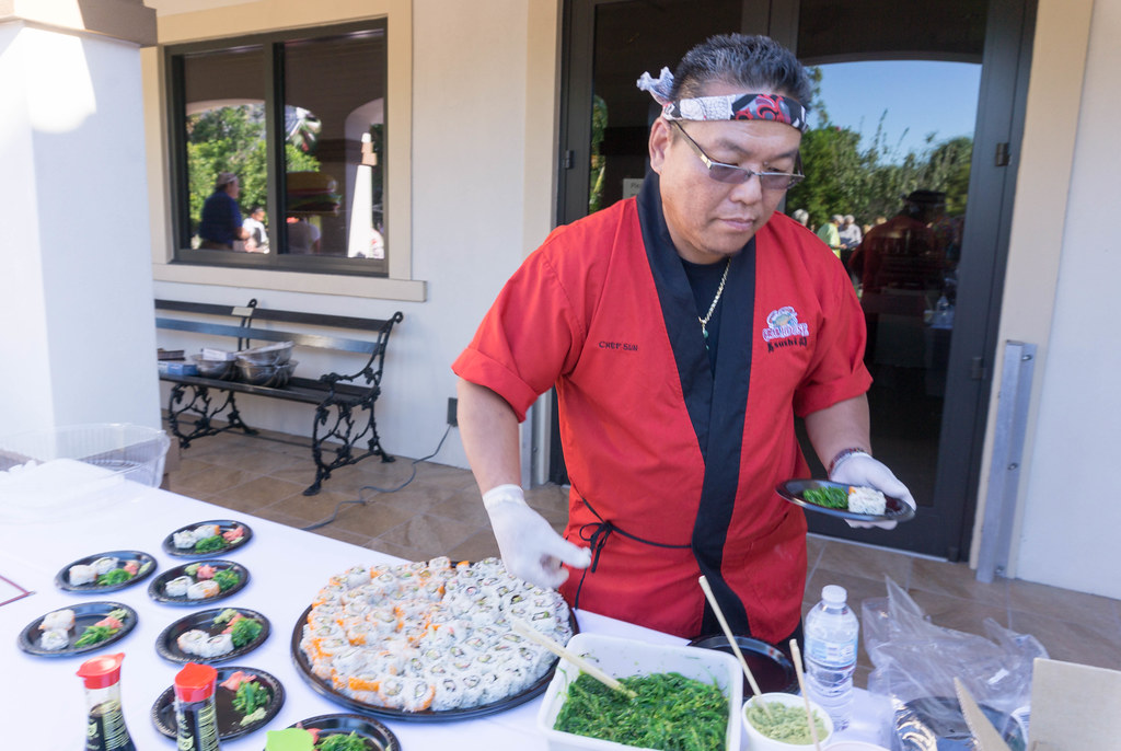Sushi, Laishley Crab House, Chef Sun - Punta Gorda Restaurant Week 2017 - Launch Party, Oct. 26, 2017