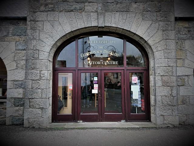 Glendronach Distillery - Visitors entrance