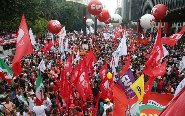 Ato das centrais também servirá para valorizar o papel dos sindicatos nas negociações coletivas - Créditos: Paulo Pinto