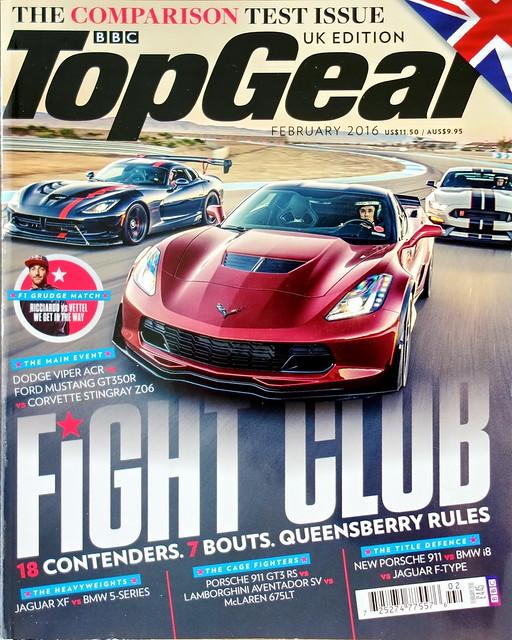 BBC Top Gear 2/2016