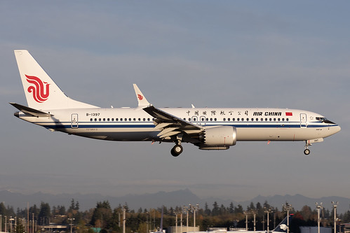 Air China Boeing 737-8 MAX B-1397