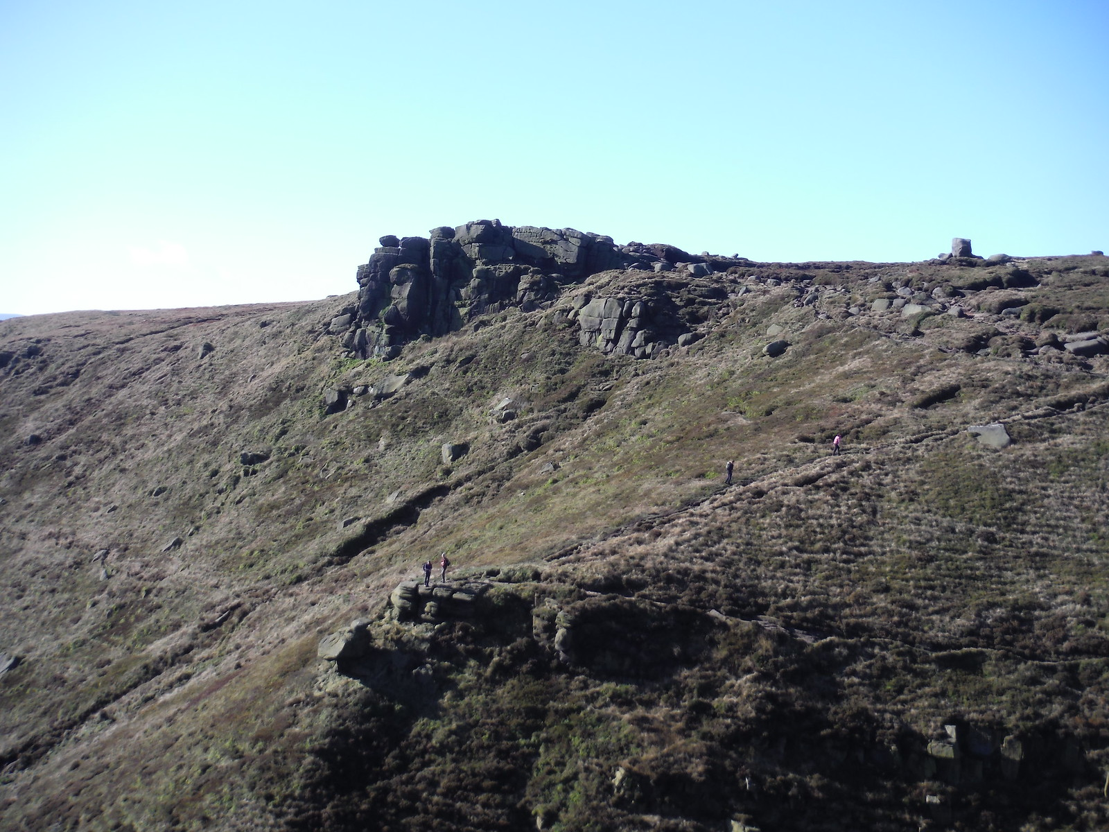 Crowden Tower SWC Walk 304 - Kinder Scout Circuit (from Edale)