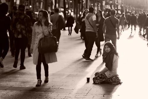 Forlorn, Champs-Elysees, Paris, 2015