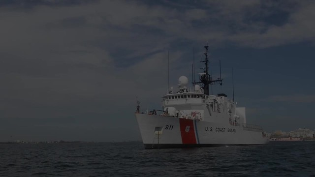 Coast Guard Cutter Forward Responds to Hurricanes