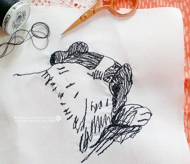 Blake - machine embroidery