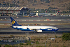 Ryanair Boeing 737-800(WL) (EI-DCL) ©