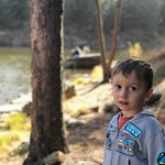 """""""Daddy can I just throw rocks instead of taking pictures?"""" by bartlekid"""