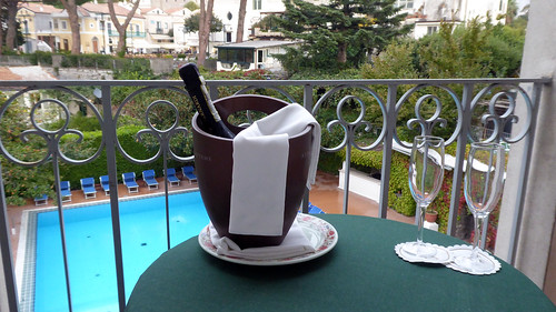 Prosecco on the Balcony