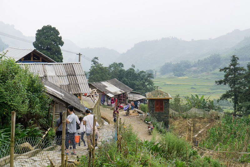 Sapa, Cat Cat Village - view