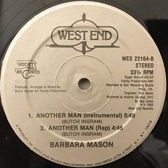BARBARA MASON:ANOTHER MAN(LABEL SIDE-B)