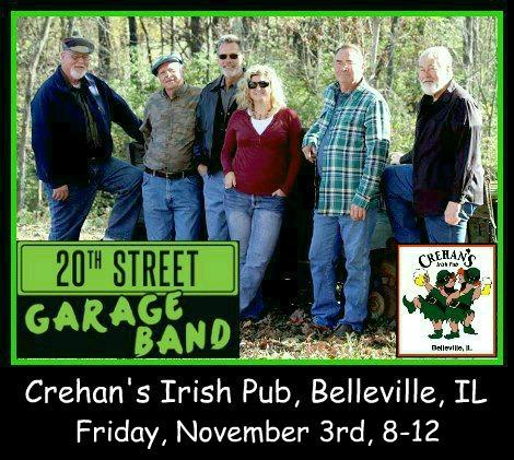 20th Street Garage Band 11-3-17