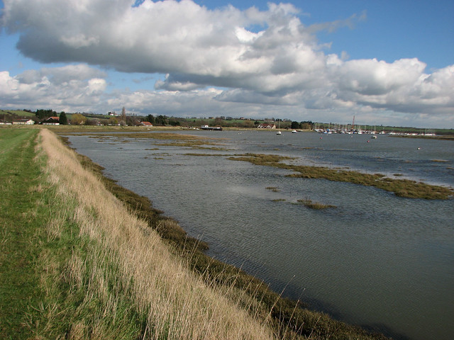 The coast west of Althorne