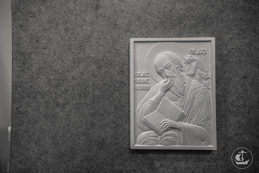 28 сентября 2017, Молебен в медальерном классе Российской Академии Художеств / 28 September 2018, The Prayer in the Medal class of the Russian Academy of Arts