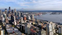 Seattle Skyline & Rainier