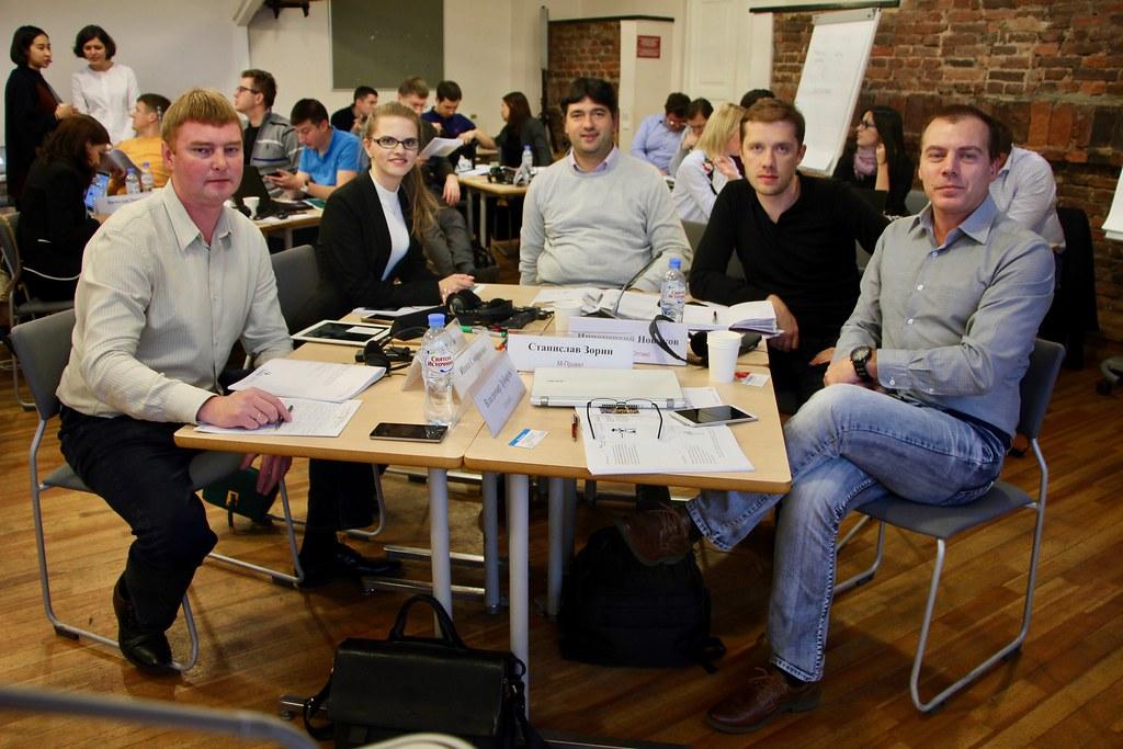 Cостоялся первый модуль образовательного проекта Converge