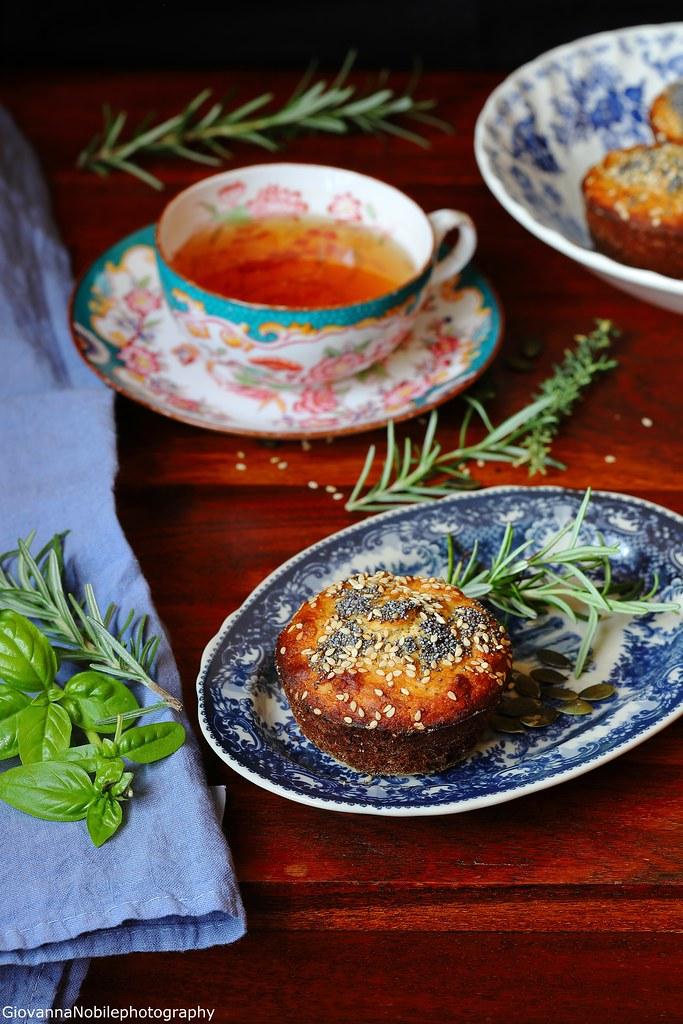 Tortine con miele, rosmarino e noci 3