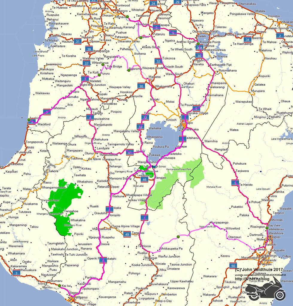NI1600 2017 Route