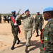 Military Adviser,  Department of Peacekeeping Operations, Lt-General Carlos Loitey, visited Zaligei, Central Darfur