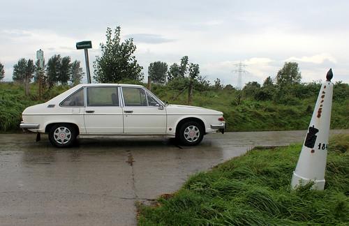 1978 Tatra 613 at the Dutch-Belgian border