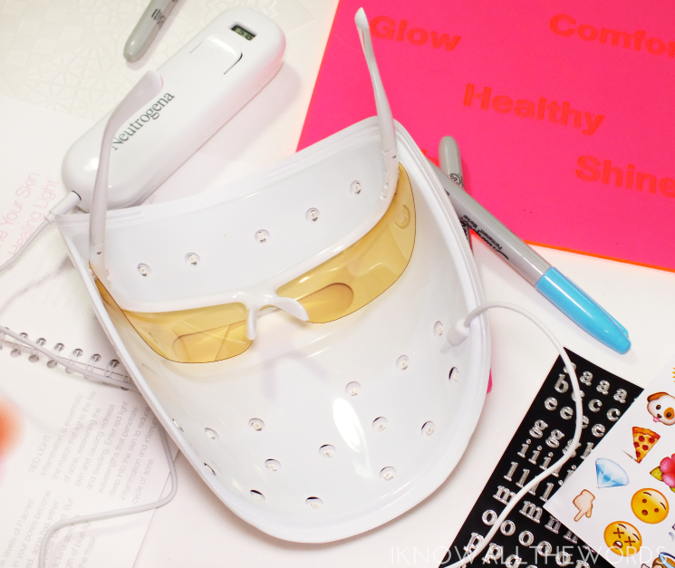 neutrogena light therapy acne mask (4)