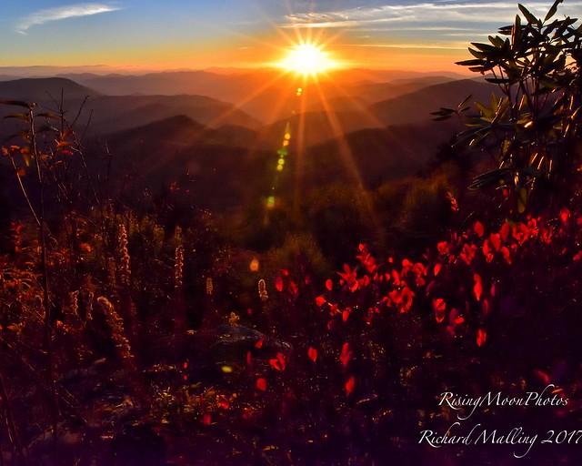 Blue Ridge Sunset 2017