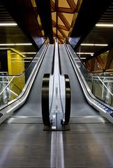 Crossrail Escalator Canary Wharf