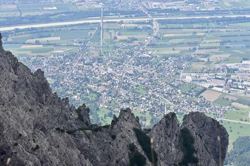 Uitzicht over Liechtenstein (Schaan)