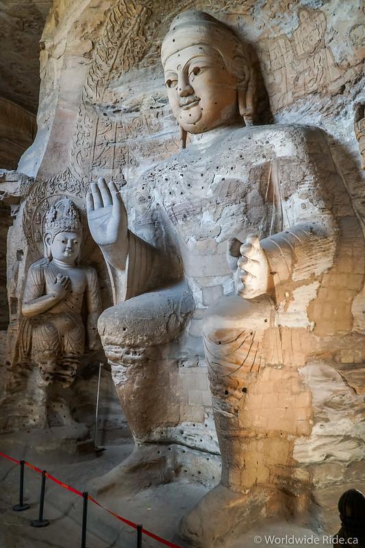 China Datong Grottos-23