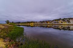 Autumn in the river Sorraia