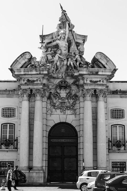 Lisbon Museu Militar B&W