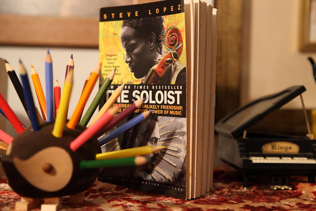 The Soloist, a lost dream, an unlikely friendship, and the redemptive power of music