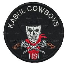 HSI Kabul Cowboys Patch