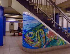 Mosaic, Delancey St Station,