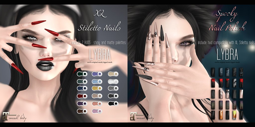 XL Stiletto Nails for Once Upon a Nightmare - TeleportHub.com Live!