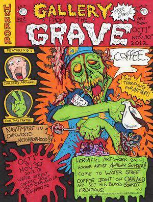 Gallery from the Grave, artist Anthony Snyder