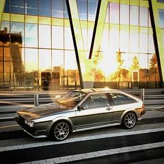 1988 16V VW Scirocco - new coat of atomic silver