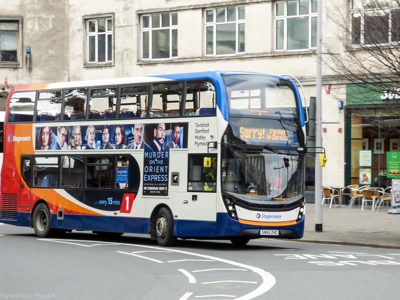 Stagecoach Devon 10489 SN65ZHD