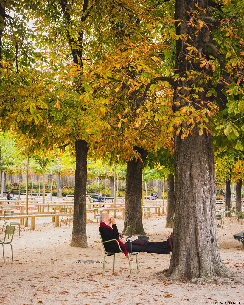 Pause au parc