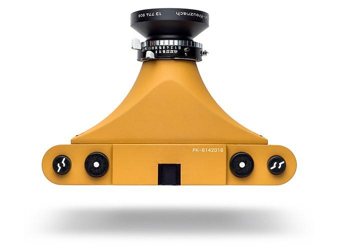 Le K-Pan: L'appareil photo panoramique moyen format imprimé en 3D