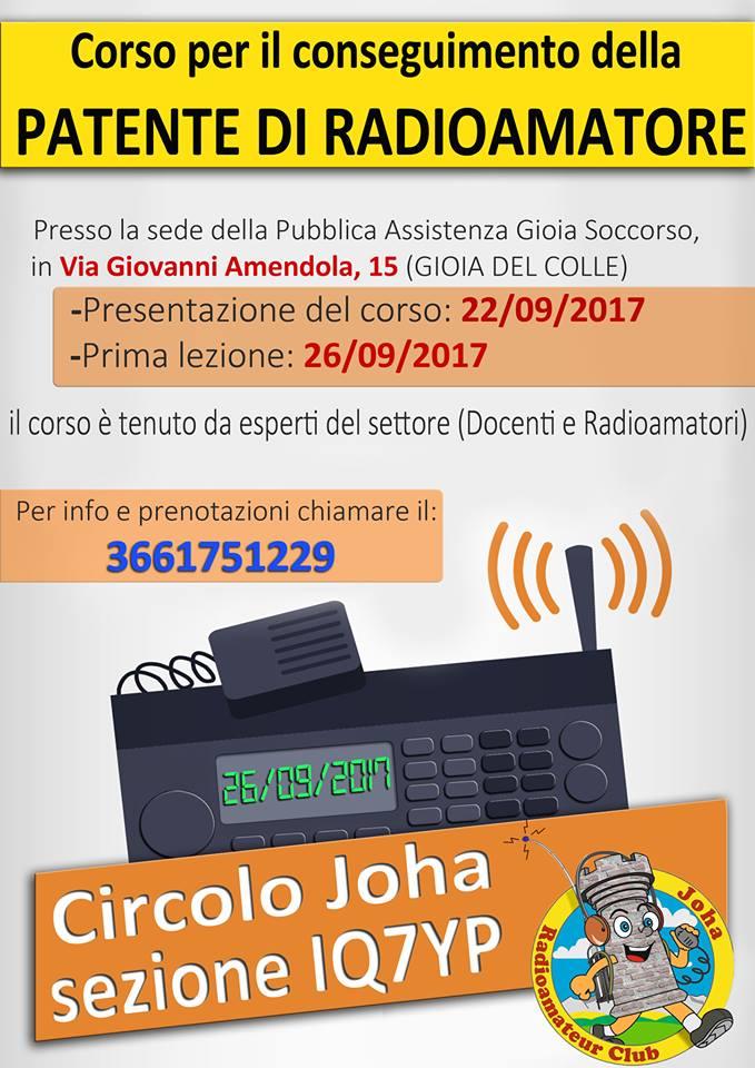 patente radioamatore