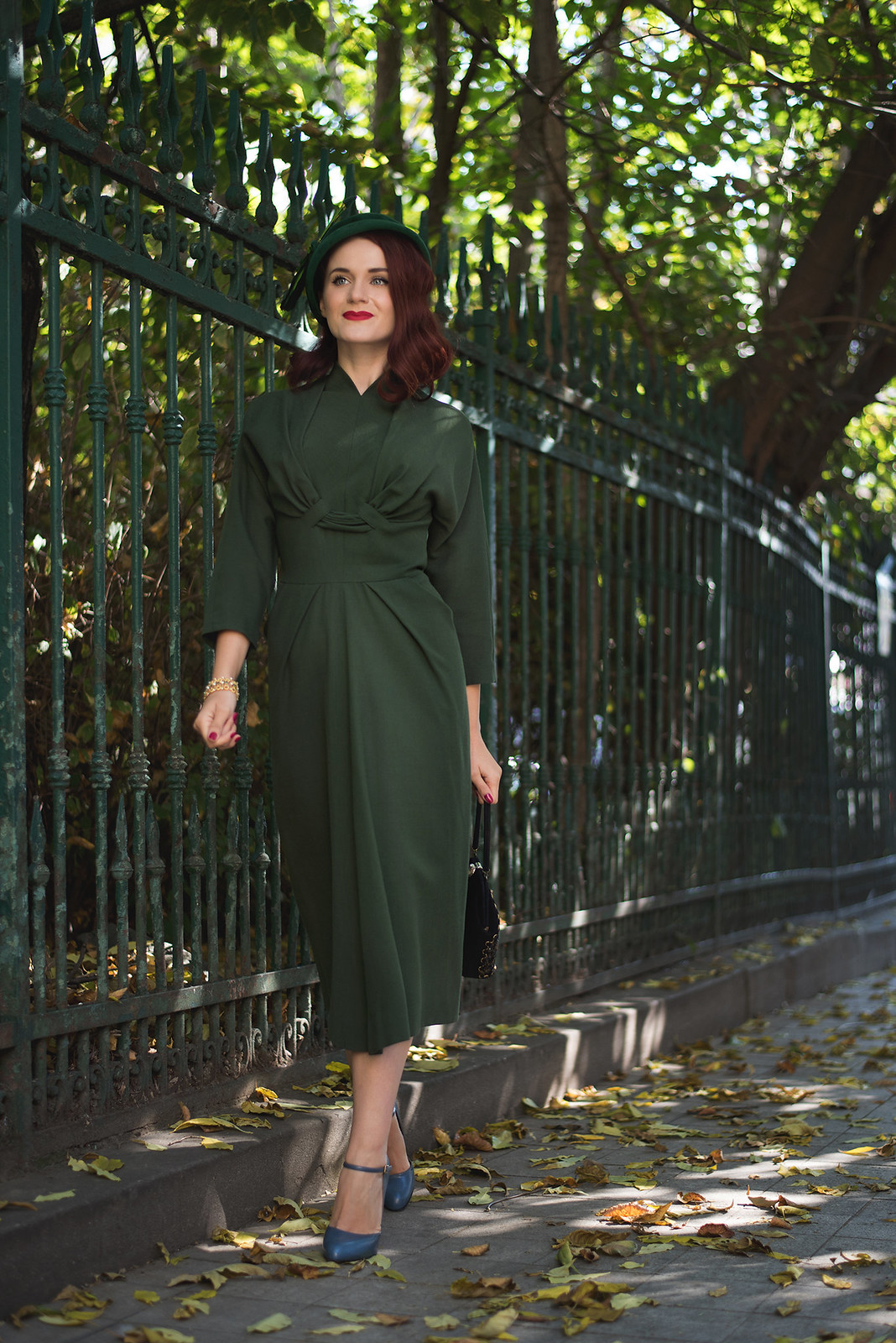 military green dress9