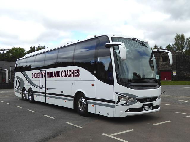 AS17 JDS - Volvo B11RT / 9700 C53Ft - J. Docherty & Sons Ltd., Midland Coaches, Auchterarder, Perthshire, Scotland.