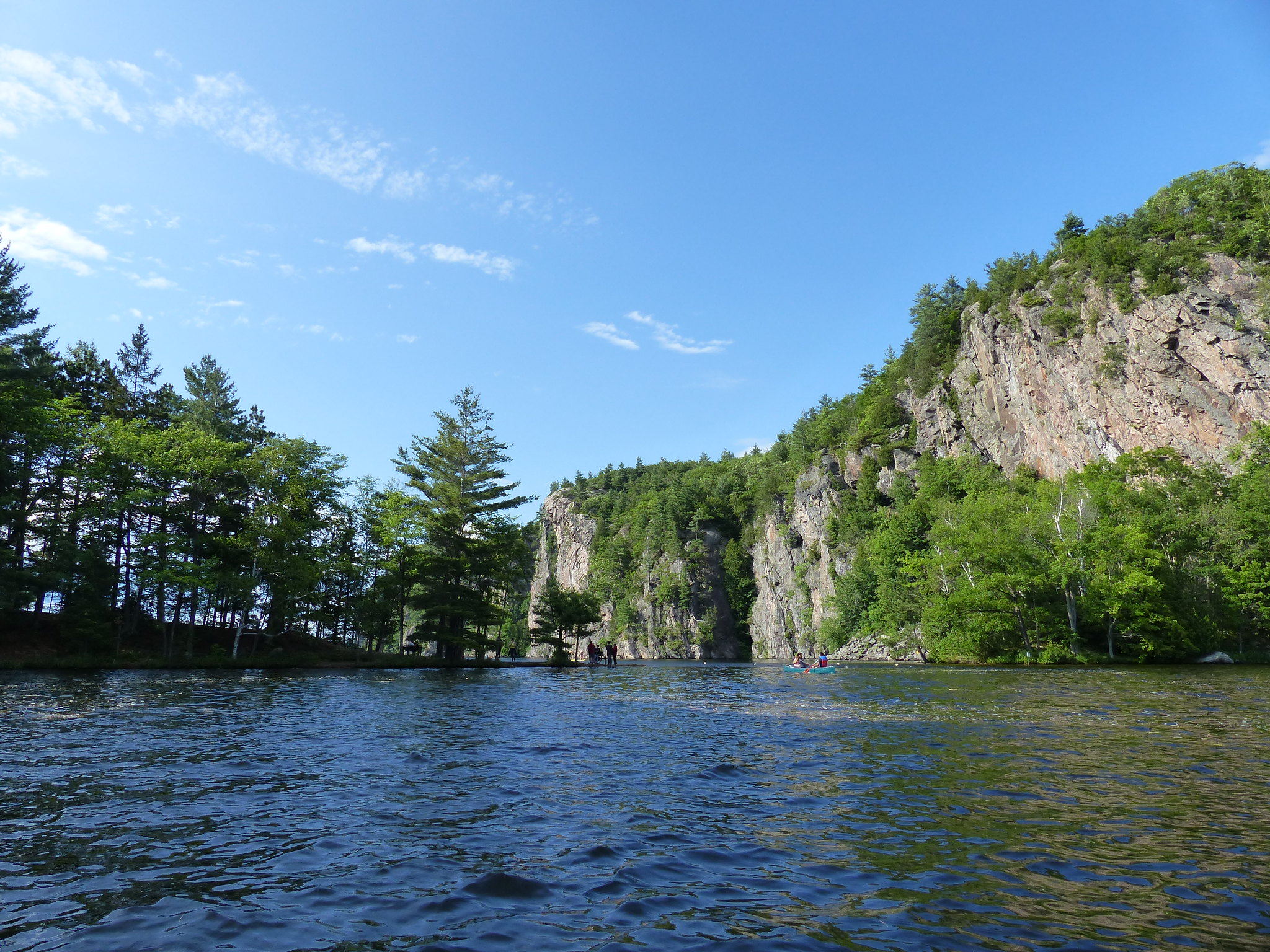 Bon Echo Provincial Park The Narrows Mazinaw Lake