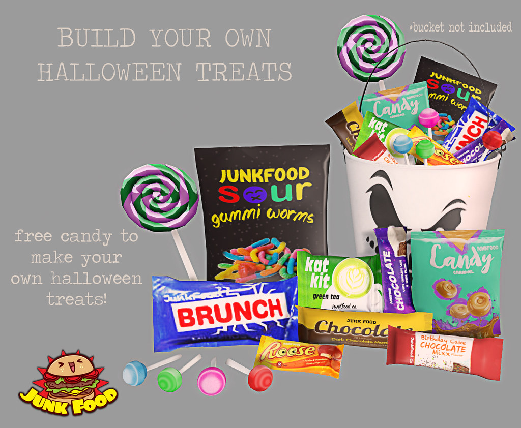 Junk Food - Build your Own Candy Ad - TeleportHub.com Live!