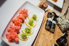 Plate of Fresh Sushi