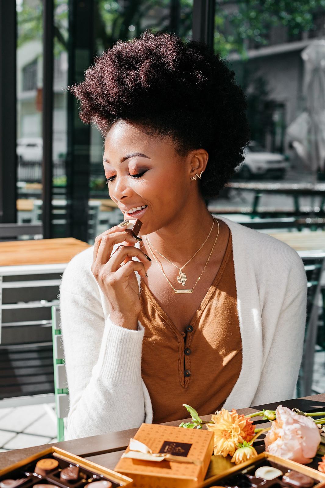 natural hair food blogger