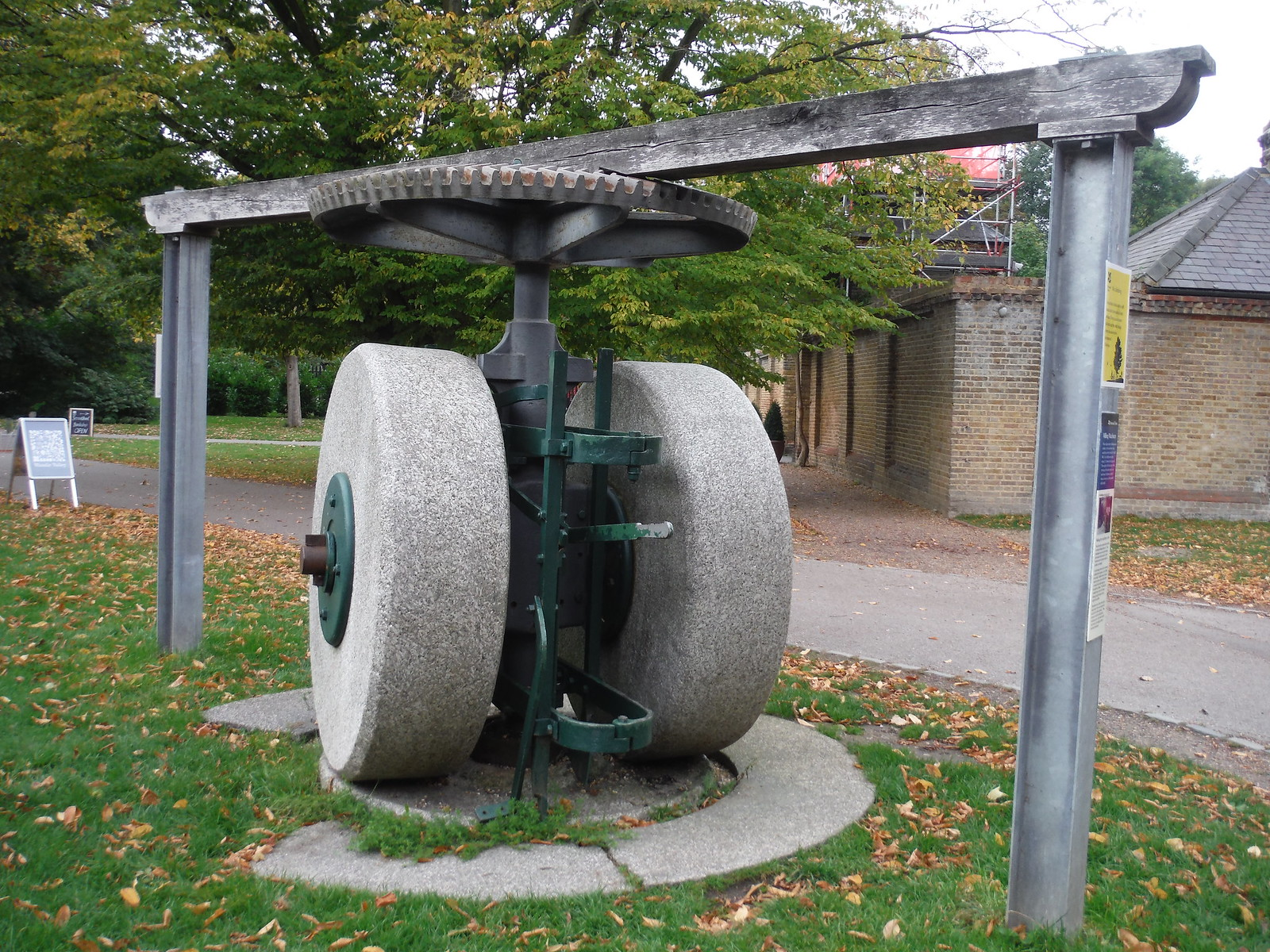 Old Millstones, Morden Hall Park SWC Walk Short 13 - Morden Hall Park and Merton Abbey Mills