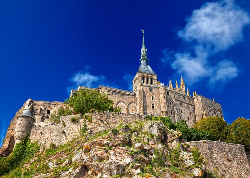 Mont Saint-Michel. Credit Nicolas Raymond, flickr