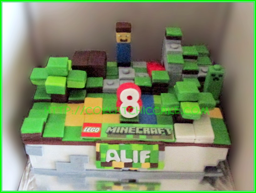 cake Lego minecraft ALIF